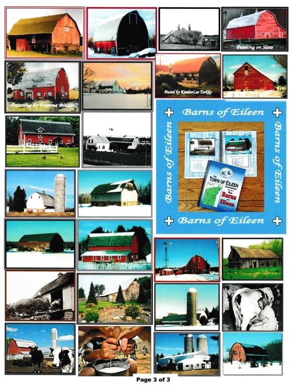 Eileen Wisconsin Historical Society - Barns of Eileen