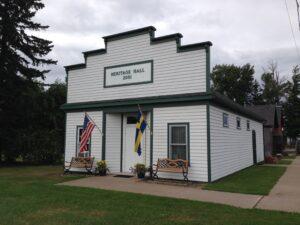 Port Wing Wisconsin Heritage Hall Museum